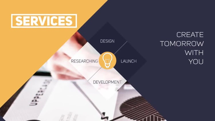 Parallax Corporate Presentation: After Effects Templates