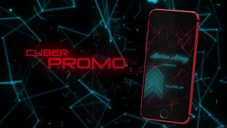 Instagram Stories Cyber Promo Opener: After Effects Templates
