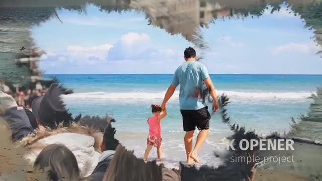 INK Simple Opener SlideShow: After Effects Templates