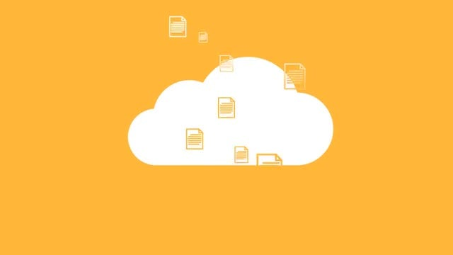 Flat Cloud Logo: After Effects Templates