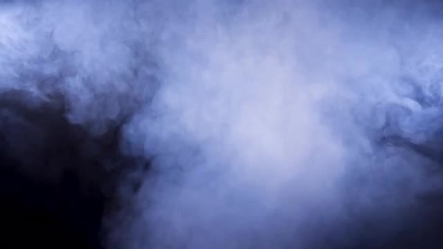 Dense Blue Smoke : Stock Video