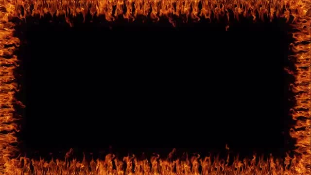 Fire Frame : Stock Motion Graphics