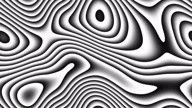 Abstract Layered Curves Background : Stock Motion Graphics