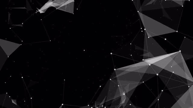 Slow Floating Plexus: Stock Motion Graphics