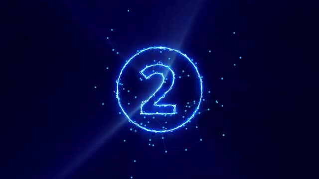 Energetic Countdown: Stock Motion Graphics