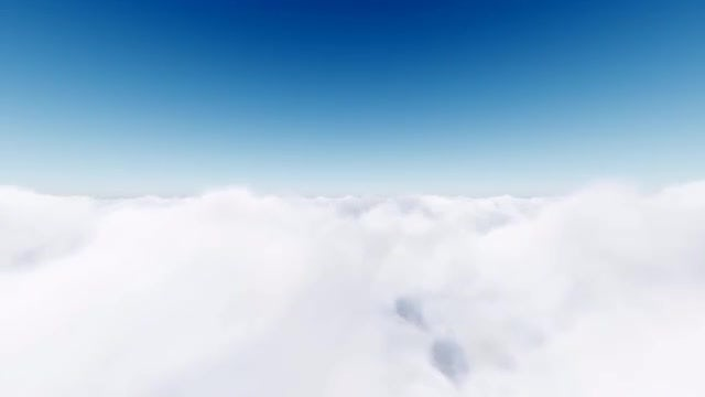 Flying In The Clouds: Stock Motion Graphics