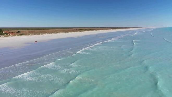 Eighty Mile Beach In Australia Aerial - Stock Video | Motion Array