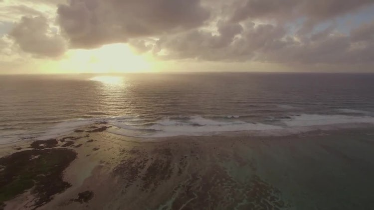 Aerial View Of Mauritius Island: Stock Video