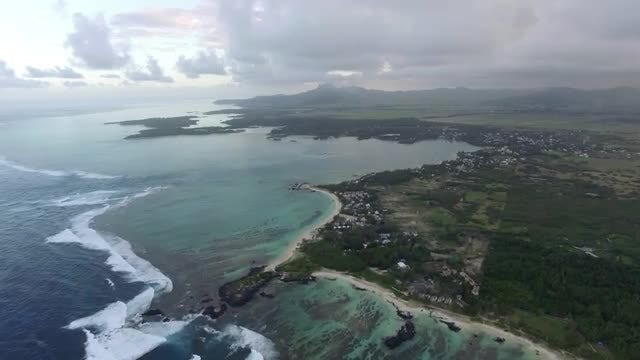 Mauritius Island And Indian Ocean: Stock Video