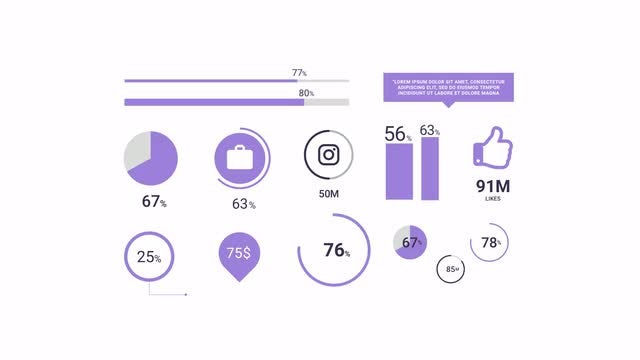 Infographic Pack: After Effects Templates