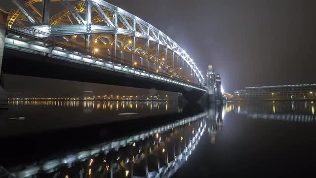 Peter The Great Bridge: Stock Video