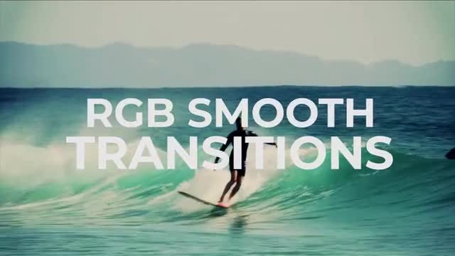 RGB Smooth Transitions: Premiere Pro Templates