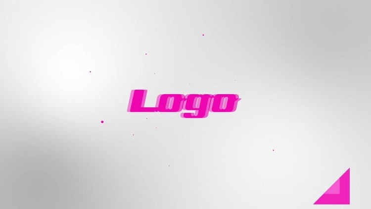 Triangle Logo: After Effects Templates