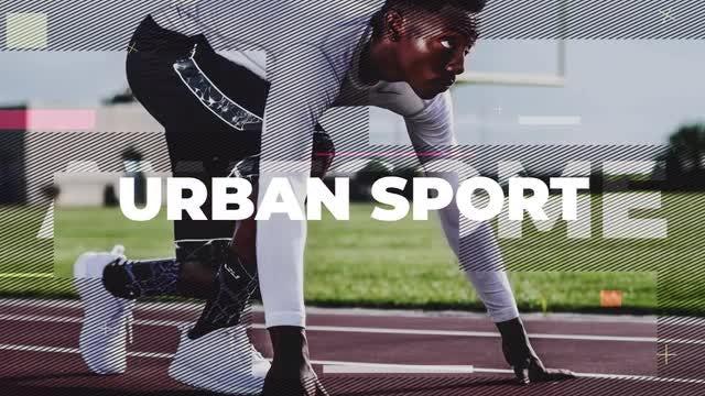 Urban Sport Promo: Premiere Pro Templates