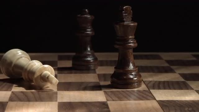 Game Of Chess : Stock Video