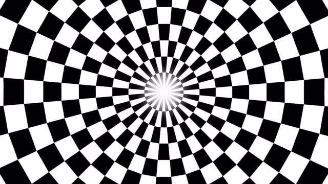 Circle Illusion: Stock Motion Graphics