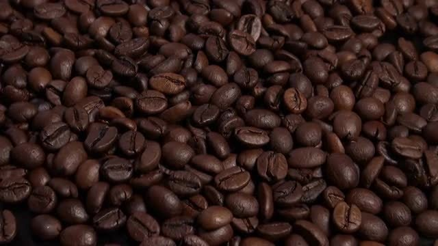 Coffee Roasting Machine With Beans : Stock Video