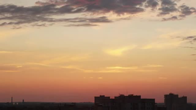Sunset Time Lapse: Stock Video