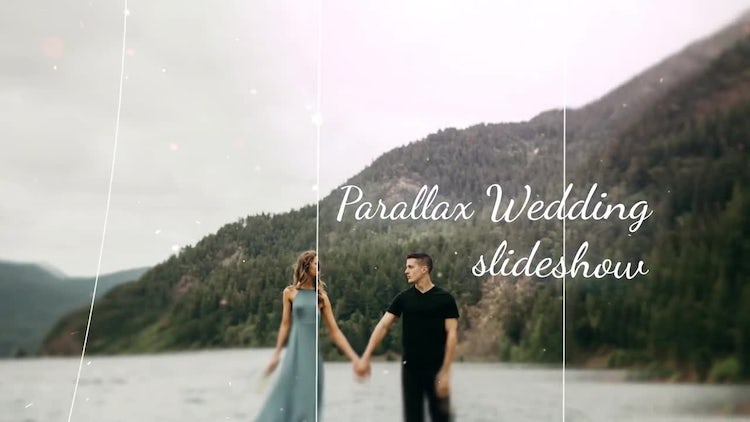 Parallax Wedding Slideshow: After Effects Templates