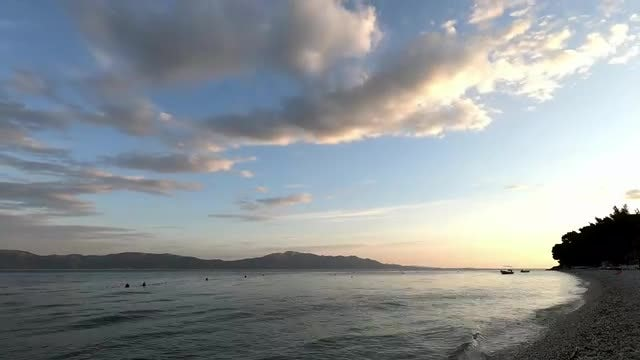 Time Lapse Of The Ocean: Stock Video