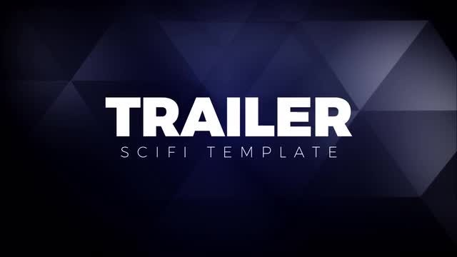 Trailer Titles Sci-fi: After Effects Templates