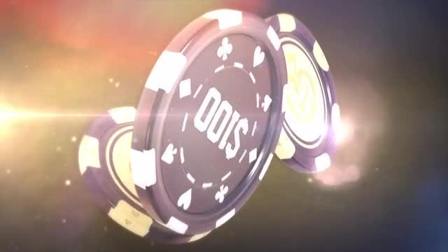 Casino Chips: Stock Motion Graphics