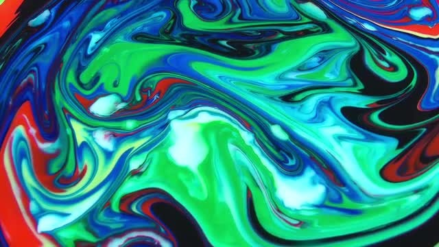 Green-Blue Marble Abstract Wallpaper: Stock Video