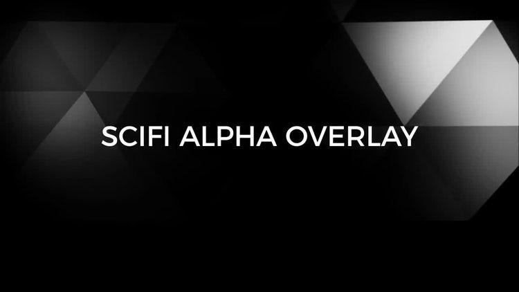 Sci-fi Alpha Overlay: Stock Motion Graphics