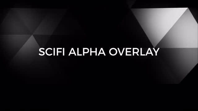 Sci-fi Alpha Overlay: Stock Motion Graphics