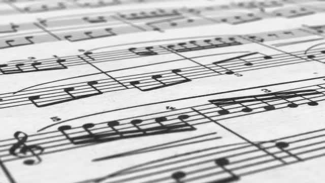 Musical Notes: Stock Motion Graphics