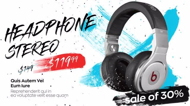 Big Sale Promo: After Effects Templates