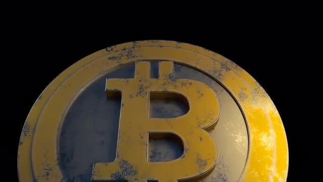Rotating Bitcoin Pack: Stock Motion Graphics