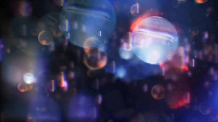 Assorted Bokeh Abstract Background: Stock Motion Graphics