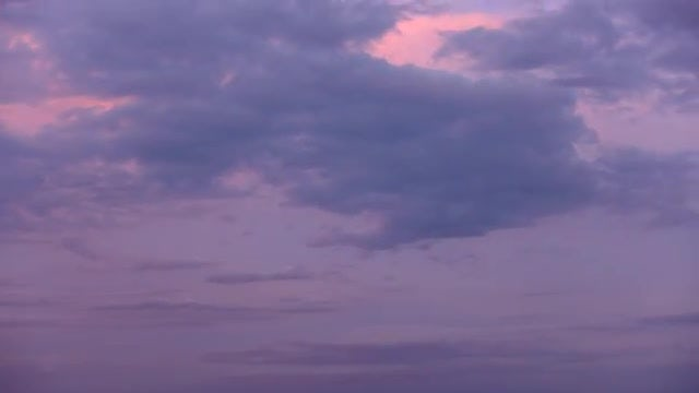 Time Lapse Of Stormy Clouds: Stock Video