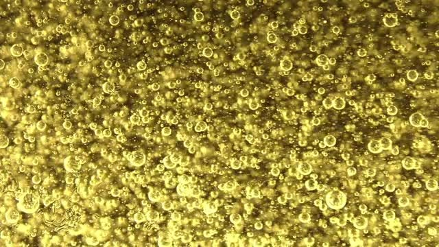 Colored Bubbles In Oil : Stock Video