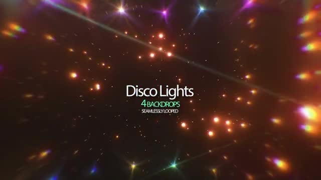 Disco Lights : Stock Motion Graphics