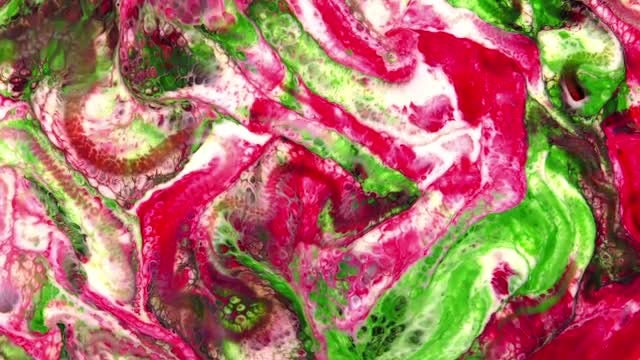 Dreamy Spread Of Colorful Paints: Stock Video