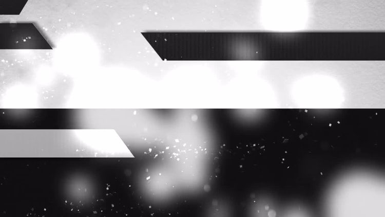 B&W  Cut Out Planes Abstract: Stock Motion Graphics