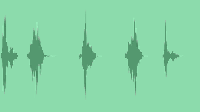 Free Pack of 5 Cool Swooshes №2: Sound Effects