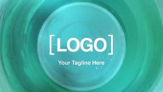 Ink Swirl Logo: After Effects Templates