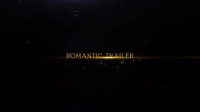 Romantic Trailer: Premiere Pro Templates