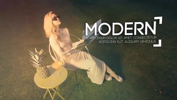 Fashion Slideshow Intro: After Effects Templates