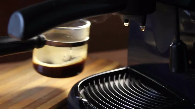 Coffee Dripping Into Brewing Cup: Stock Video