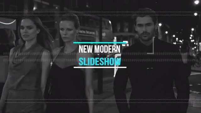 New Urban Slideshow: After Effects Templates