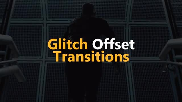 Glitch Offset Transitions: Premiere Pro Templates