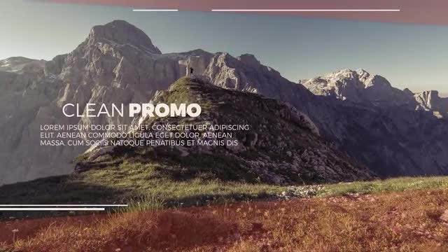 Minimal Clean Slideshow: After Effects Templates