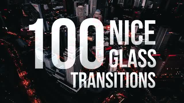 Nice Glass Transitions: Premiere Pro Templates