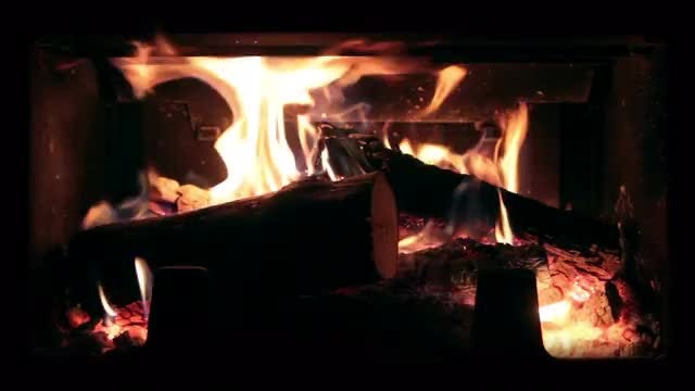 Fireplace: Stock Video