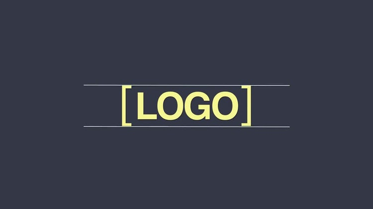 Minimal Logo 4 In 1: After Effects Templates
