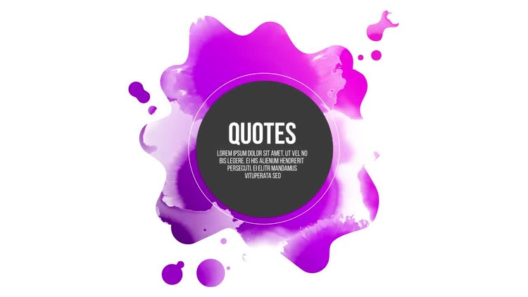Quotes Titles: Premiere Pro Templates